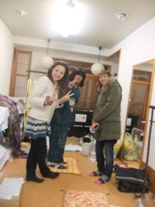 京都着物工房見学